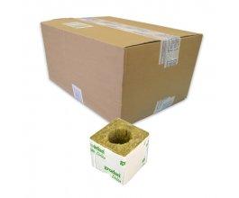 GRODAN pěstební kostka malá, 75x75x65mm, s velkou dírou, box 384ks