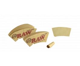 Kónické filtry RAW Cone, 32ks v balení