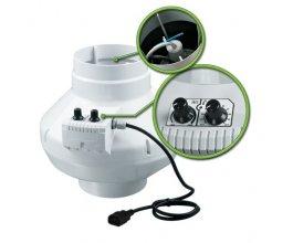 Ventilátor s termostatem VK/DALAP 125 U, 355m3/h