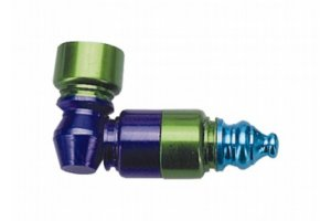 Hliníková dýmka různobarevná