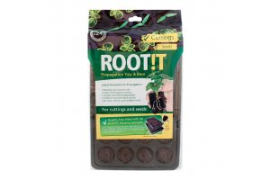 ROOT IT Natural Rooting Sponge 24 Cell Filled Trays- BOX 8ks