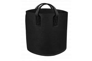 GUTPot - textilní květináč černý, 26L