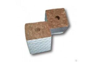 Agra-Wool pěstební kostka 75x75x65mm, s malou dírou, box 224ks