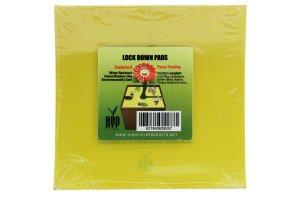 Hranaté desky lepové žluté Lock down pads, 15cm, 8ks