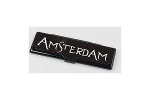 Obal na King size papírky Amsterdam černý