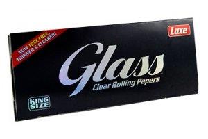 Průhledné papírky GLASS King Size, 40ks v balení