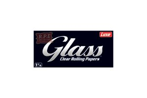 Průhledné papírky GLASS 1 1/4, 50ks v balení