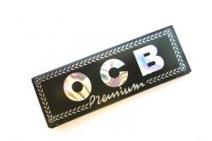 Papírky OCB Black King Size, 33ks v balení