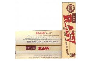 Papírky RAW ORGANIC King Size SLIM, 32ks v balení