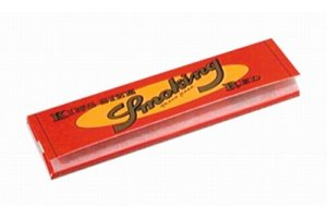 Papírky SMOKING RED King Size, 32ks v balení