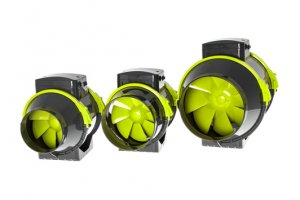 Garden High PRO - PROFAN TT Extractor Fan 125mm - 220-280m3/h, 2 rychlosti