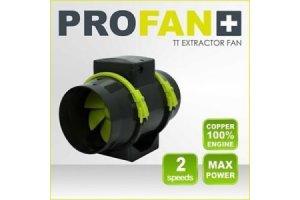 Garden High PRO - PROFAN TT Extractor Fan 150mm - 405/520m3, 2 rychlosti