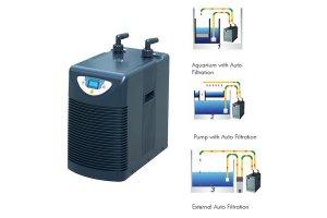 Chlazení do nádrže HAILEA HC-150A Chiller, 1200L/h