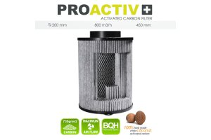 Filtr Pro Activ 800m3/h, 200mm