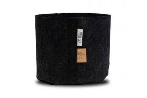ROOT POUCH BLACK - Textilní květináč 16L