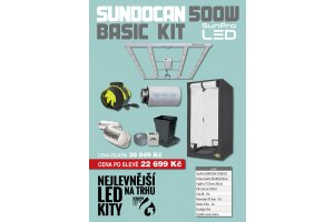 SUNPRO SUNDOCAN BASIC KIT 500W LED