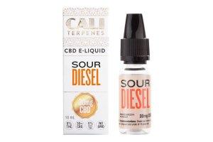 E-liquid Sour Diesel CBD 30mg 10ml 0% Nicotine