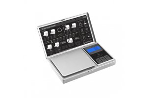 Váha Myco MZ Miniscale 600g/0,1g, stříbrná