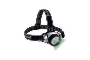 SunPro Green LED Headlamp - čelovka zelená 19LED