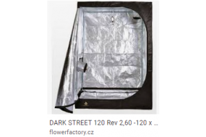 DARK STREET 120 Rev 2,5-120 x 120 x 185cm, doprodej - poslední kusy